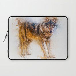 Timber Wolf Laptop Sleeve