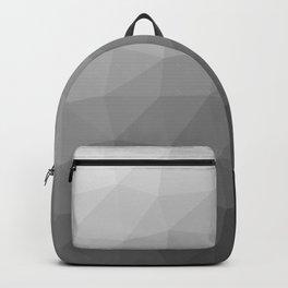 Grey geometric | Geometric shapes | Minimalist Backpack