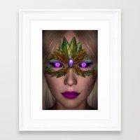 shiba Framed Art Prints featuring Shiba Eyes by Brian Raggatt