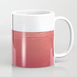 White Red White Coffee Mug