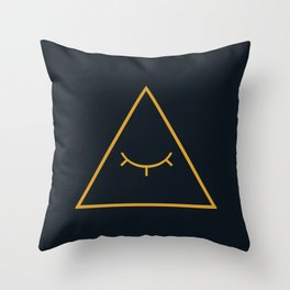 cipher Throw Pillow