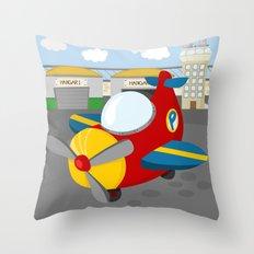 PLANE (AERIAL VEHICLES) Throw Pillow