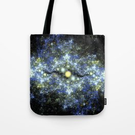 The Starry Sky at Night. Tote Bag