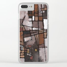 Lapse of Judgment Clear iPhone Case