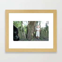 wall of organos Framed Art Print