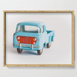 Auto bleue Serving Tray