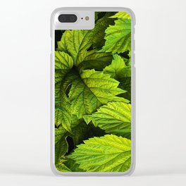Floral V2 Clear iPhone Case
