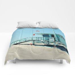 Rosecrans Tower in Manhattan Beach (El Porto) Comforters