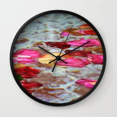 Whishing Fountain Wall Clock