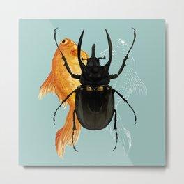 Beetle Juice Metal Print
