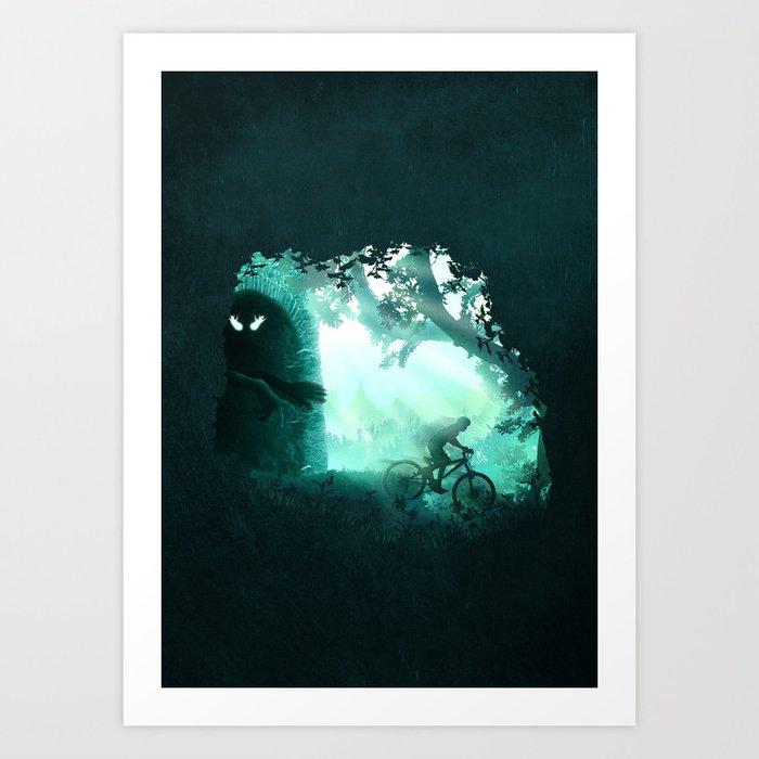 Meet the Monster Art Print