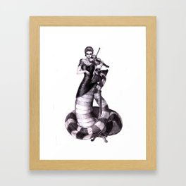 First Violin Framed Art Print