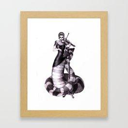 First Violin Framed Art Print