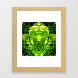 Hidden beast Framed Art Print