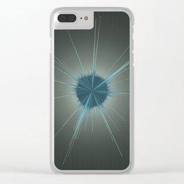 Soundburst Clear iPhone Case