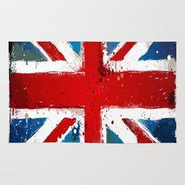 Grungy UK flag Rug