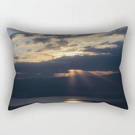 Sunrise over the Dead Sea Rectangular Pillow