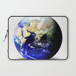 Earth Globe East Shadow Laptop Sleeve
