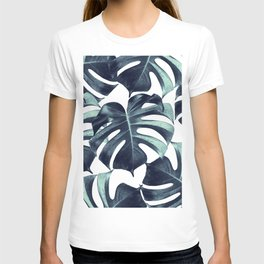 Tropical Monstera Leaves Dream #6 #tropical #decor #art #society6 T-shirt