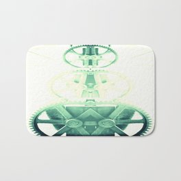Oil the wheels Bath Mat
