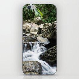 River Through El Yunque iPhone Skin