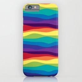 Color Flow Alt iPhone Case
