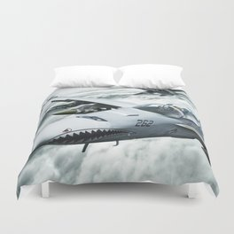 Ghost Rider this is Mustang... vector 090 for Boggie Duvet Cover