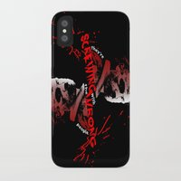 rick grimes iPhone & iPod Cases featuring Rick Grimes by artandawesome