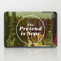 text iPad Cases featuring The Pretend Is Near. by Nick Nelson
