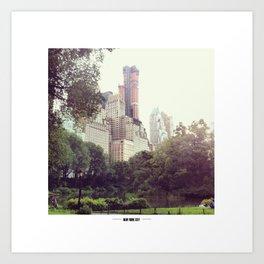 NYC Central Park Art Print
