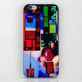 Glass Wind Chimes iPhone Skin
