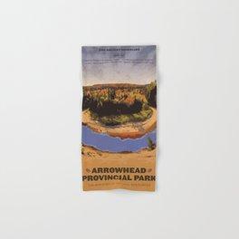 Arrowhead Provincial Park Hand & Bath Towel