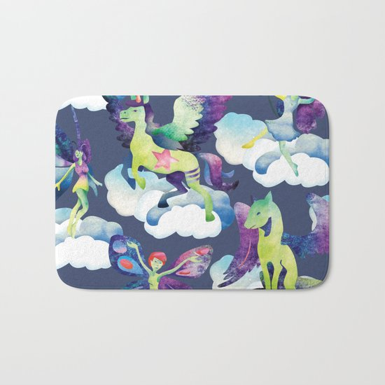 Fly into my dreams Bath Mat