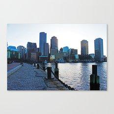 Harborwalk  Canvas Print