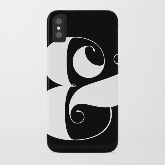 Inverse Ampersand iPhone Case