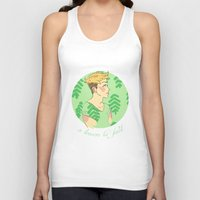 cassandra jean Tank Tops featuring Jean by Lena Lang