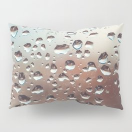 Wet Glass Pillow Sham