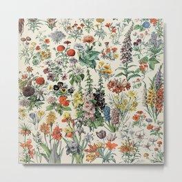 Fleurs Adolphe Metal Print
