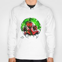 metroid Hoodies featuring Metroid by CJ Draden