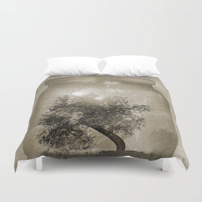 Saving Nature. Duvet Cover