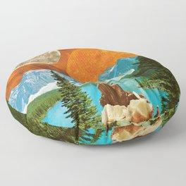 Big mineral Floor Pillow