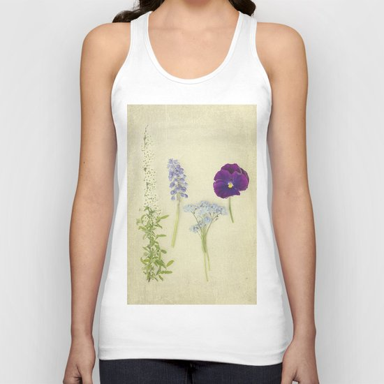 Flower Collection Unisex Tank Top