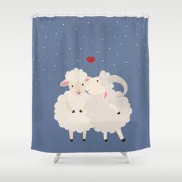 Sheep Series [SS 01] Shower Curtain