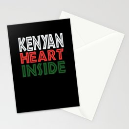 Kenyan Quotes Stationery Cards