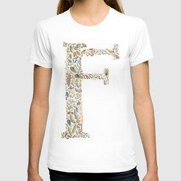 F of Leaves T-shirt