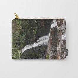 Tennessee Waterfall Smoky Mountains Color Photo Carry-All Pouch