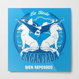 La Siesta Encantada, Bien Reposado • The Best Tequila TShirt! Metal Print