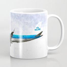 KlM Embraer 190 Coffee Mug