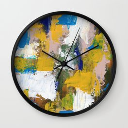 Abstract Expression #11 by Michael Moffa Wall Clock