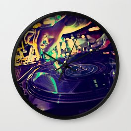 At Nightclub Wall Clock